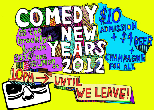 lookmom:  JUSTIN TYLER AND I ARE HOSTING NEW YEARS THIS YEAR DJ DAN CHAMBERLAIN INVITATION ART BY ABBI JACOBSON PRODUCTION SURPRISES FROM MATT MAYER   This was so much fun last year I'm willing to travel to Brooklyn for it a second time.