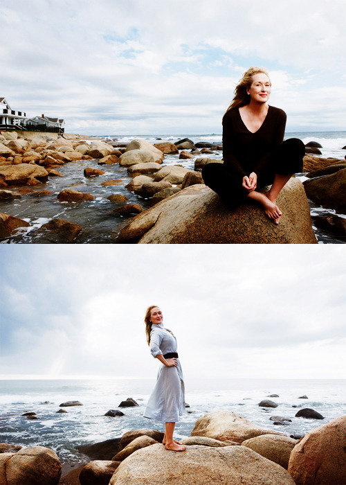 Meryl Streep for Vogue (January 2012)
