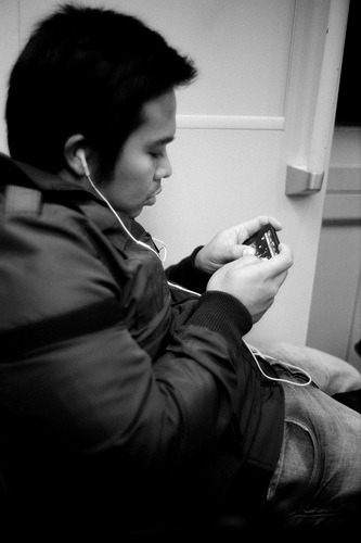 Commute: Game Boy #streettogs #streetphotography  Flickr: http://flic.kr/p/aAREN1