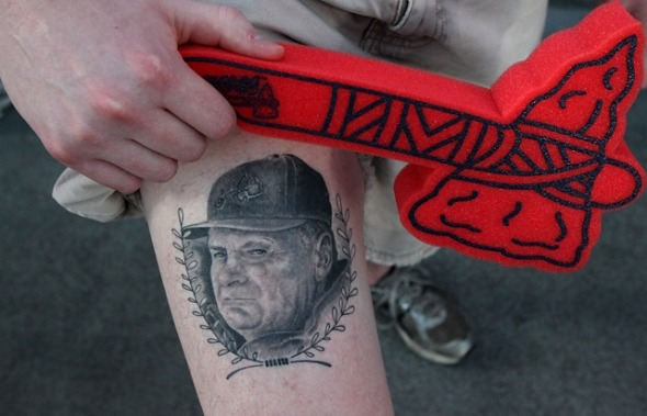 Bobby Cox Tatty: Bad Decision or Wicked Tattoo?