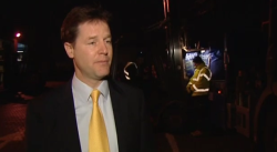 Nick Clegg got you a £20 gift voucher for Christmas, and then he opened his present from you, and it was a £10 voucher to the same shop. http://twitter.com/#!/sadnickclegg