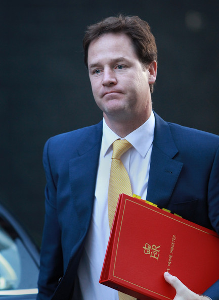"Nick Clegg asked if you'd ever experienced true love, and you said ""yes, of course"", and then there was a pause, and you said ""why, haven't you?"", and he said ""oh yes me too obviously"", but then just stared into space for a while.  https://twitter.com/#!/sadnickclegg"