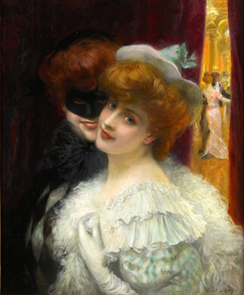 Albert Lynch, The Masked Ball, (1862)