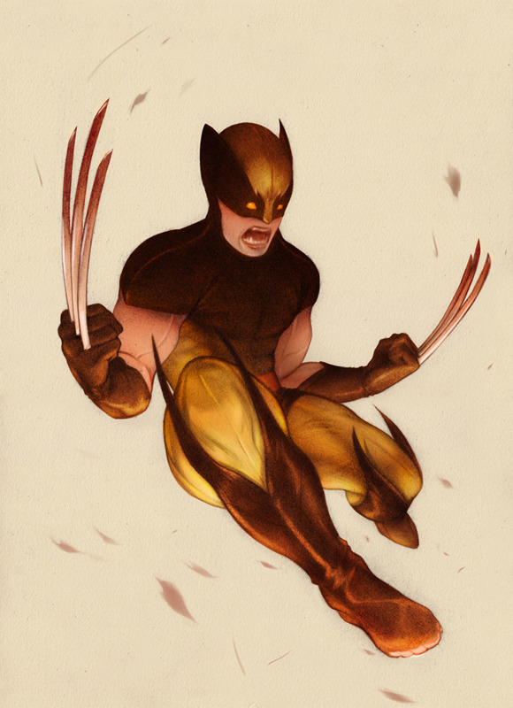 samwolfeconnelly:  'Wolverine' Sam Wolfe Connelly  Sam you should keep making these.
