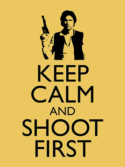 ashhole321:  Han shot first