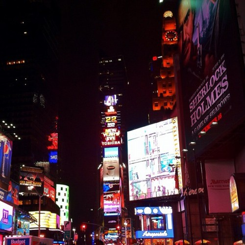 Times Square (Taken with instagram)
