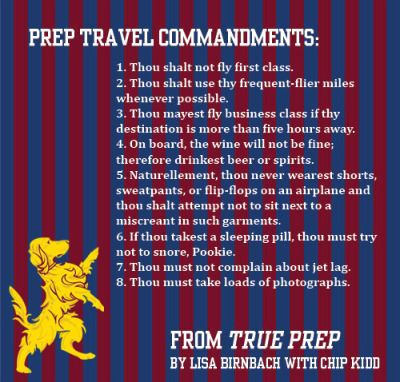 True Prep travel commandments for the Holiday season.