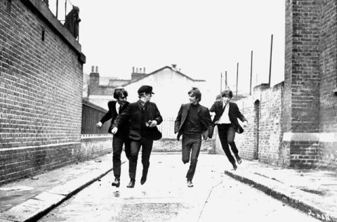 A Hard Day's Night. The soundtrack for this movie sold over a million copies within the first week of release. This is probably The Beatles at their best.