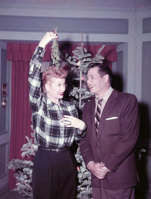 Lucille Ball and Desi Arnaz, 1950s.