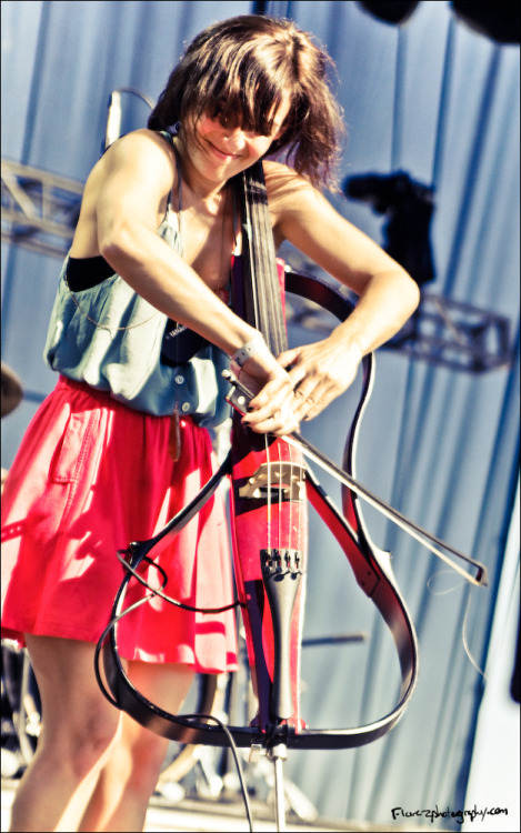 Another of the cellist of Ra Ra Riot…