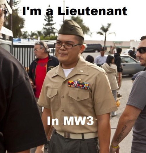 thedailymeme:  new meme: fake marine courtesy of: http://www.facebook.com/photo.php?fbid=10150425879301395&set=a.359500406394.155445.267994231394&type=1&theater