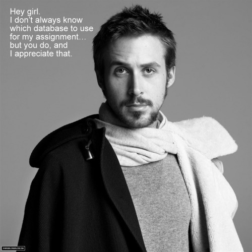 librarianheygirl:  Thanks pashminasandpinksunglasses.  (Photo from ryangoslingonline.)  Well, this one's pretty special to me