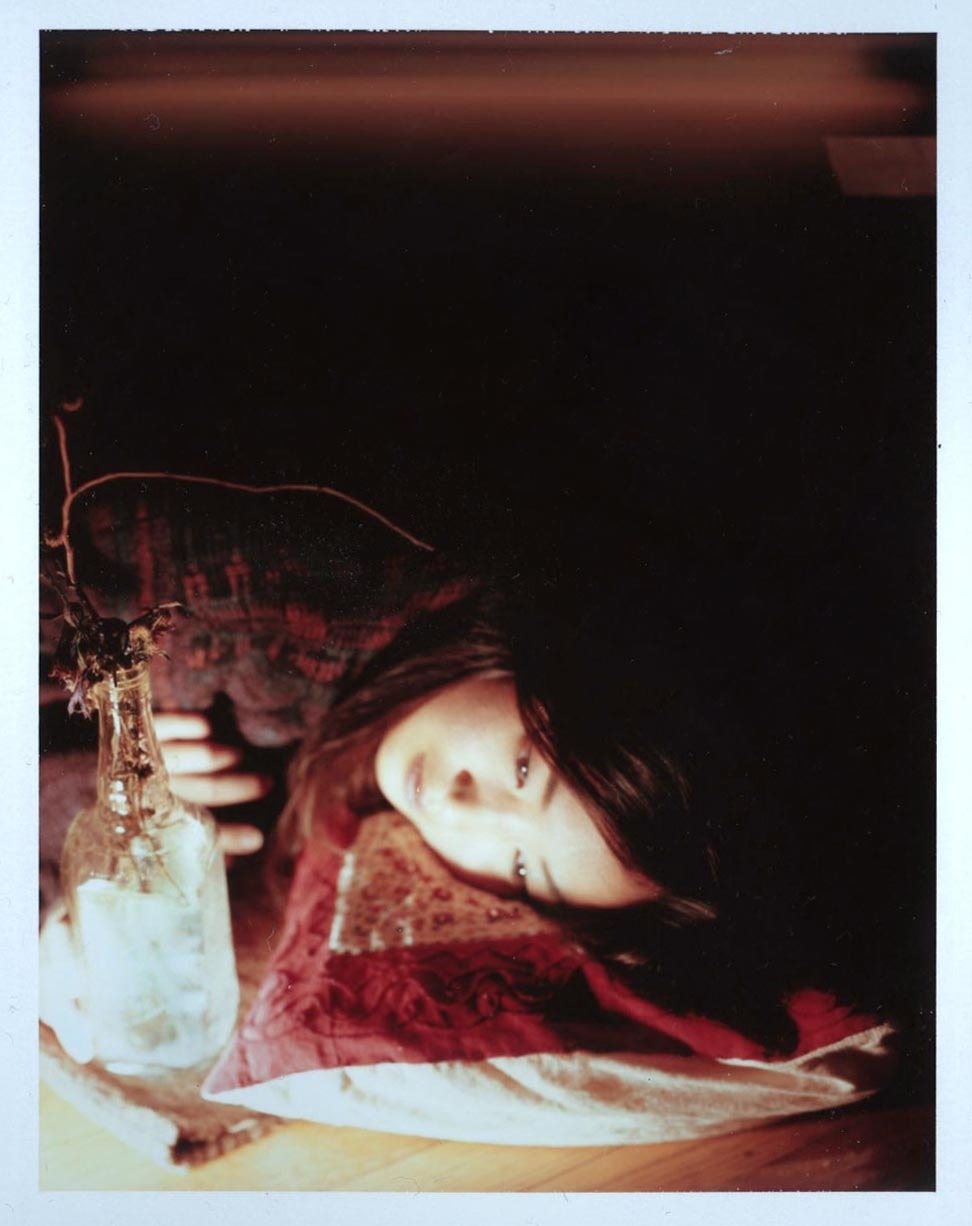 Tiffany Suh 4x5 Fuji Instant FilmPhotograph taken by Adrienne Quilliam