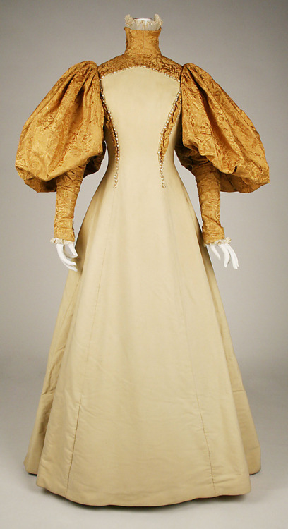 Bridesmaid dress by House of Worth, 1896 Paris (worn in the US), the Met Museum