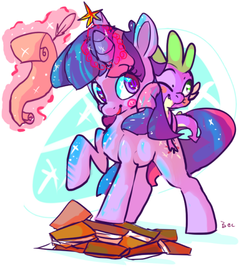buckyeahmylittlepony:  Twilight by ~FurryDinner  I can't remember if this has made an appearance on my blog yet. OH WELL Adventure, ho!
