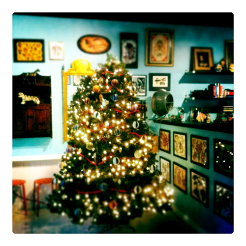 It's Christmas time here at Squid And Whale.