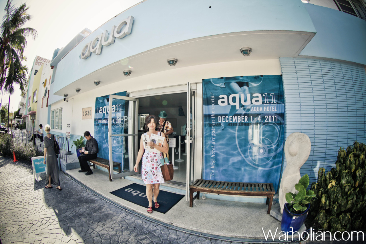 Our complete coverage and photos of Aqua Art Fair from Art Basel Miami Beach 2011 week! A wonderful review by guest writer Lauren Lanzisero of Gallery Hijinks with photographs by Warholian's own Michael Cuffe! http://warholian.com/2011/12/11/aqua-art-fair/