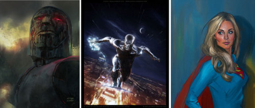 comicsalliance:   Daniel James Cox Paints With Blockbuster Style [Art]   By Brian Warmoth   Daniel James Cox knows how to lay down some mighty paint strokes. He works in cinematic concept art and portraiture, filled with brilliant lighting and effect choices. Basically, if you didn't wake up this morning with a hankering to see an IMAX Doc Frankenstein movie, that's all about to change.\   See more at ComicsAlliance.