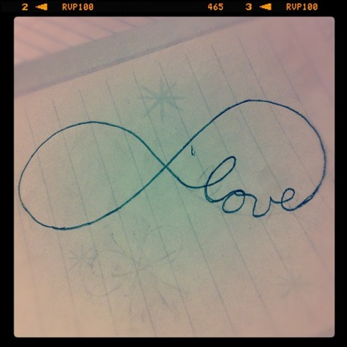 Infinite Love  (Taken with instagram)
