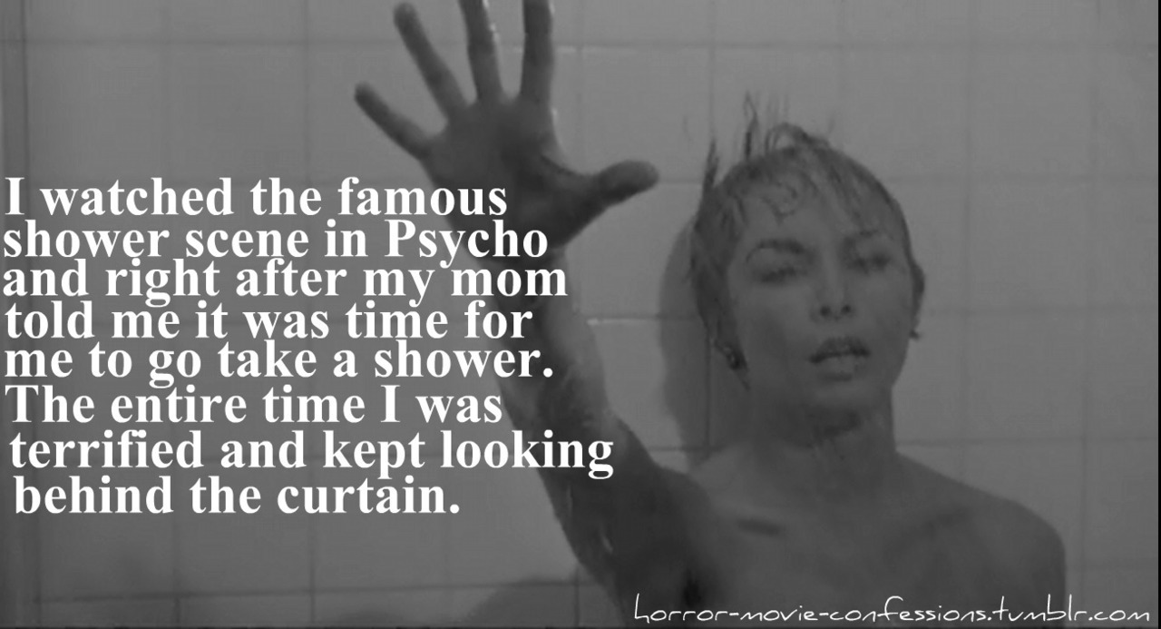 Psycho shower curtain scene -  I Watched The Famous Shower Scene In Psycho And Right After My Mom Told Me