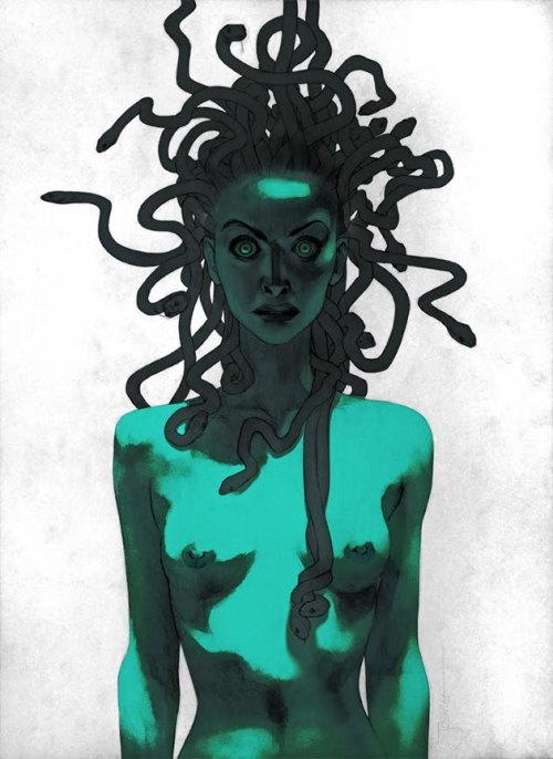 givemesomethingmore:  aintasuperhero:   Medusa by Joshua Middleton