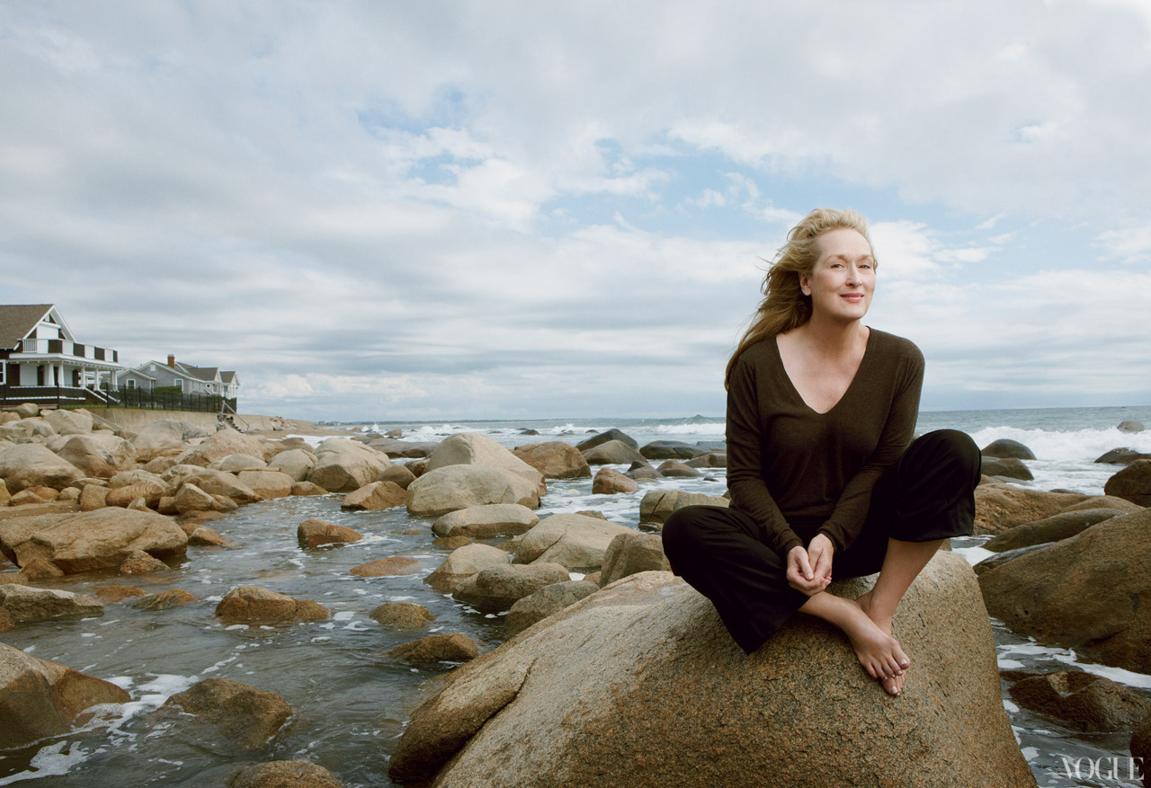 Meryl Streep: Force of Nature - Vogue by Annie Leibovitz, January 2012