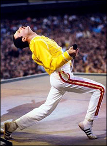 The amazing Freddie Mercury