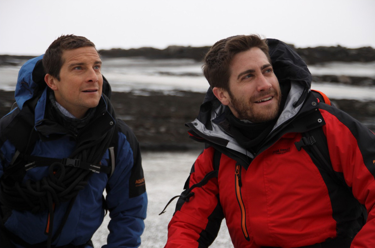 Bear Grylls and Jake Gyllenhaal