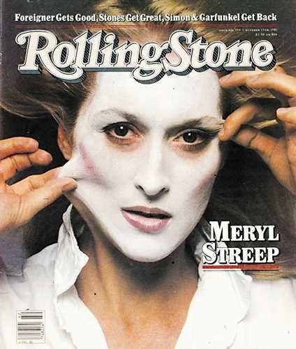 -saturdaynightlive:  Meryl Streep on the cover of Rolling Stone (October 15, 1981)