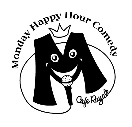 12/12. Monday Happy Hour Comedy @ Cafe Royale. 800 Post St. SF. No cover (tip). 7PM. Feat Andy Dugan, Brian King, Alex Koll, Dhaya Lakshminarayanan, Casey Ley, Brendan Lynch, Morgan, Sammy Obeid, Lydia Popovich, David Studebaker, and Dave Thomason. Hosted by Cara Tramontano.