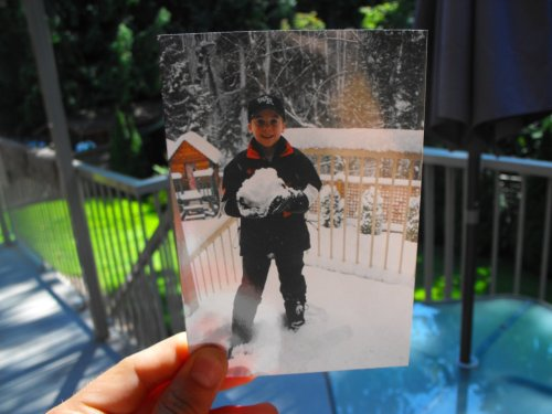 Dear Photograph,  Many years ago, having a snowday was everything and always unexpected. I surecould use one now!  Chris