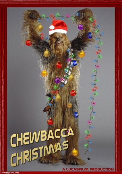 Chewbacca christmas