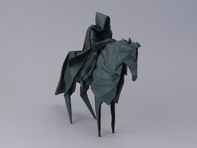 oliphillips:  Lord of the Rings Origami by Jason Ku