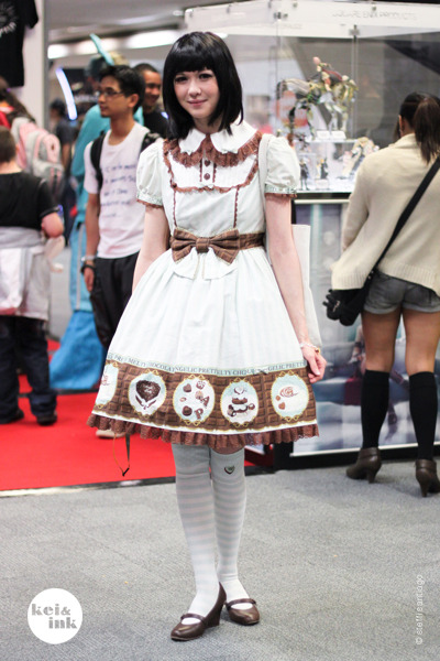 "keiandink:  ""In choco-mint please!"" Hyper Japan 2011 
