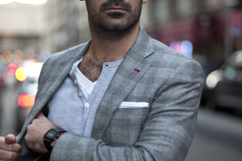 tailoredreams:  Detailed Blazer.