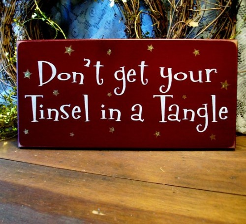tinsel tangle