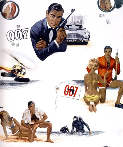 james bond wallpaper, 1966