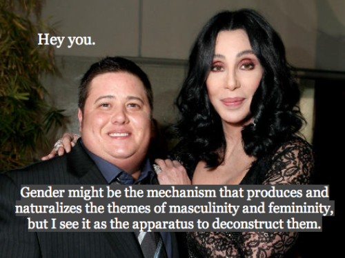Proud Mom Cher and her son Chaz believe in life after transition!