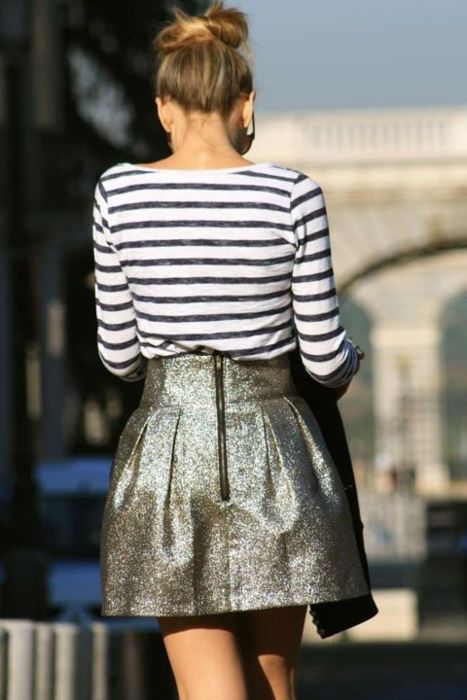 Nautical and sparkles, what a combination