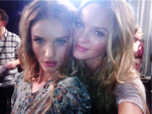 a-c-n-e:  rosie and candice look like twins!