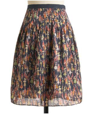 Modcloth Ladies and Gents Skirt