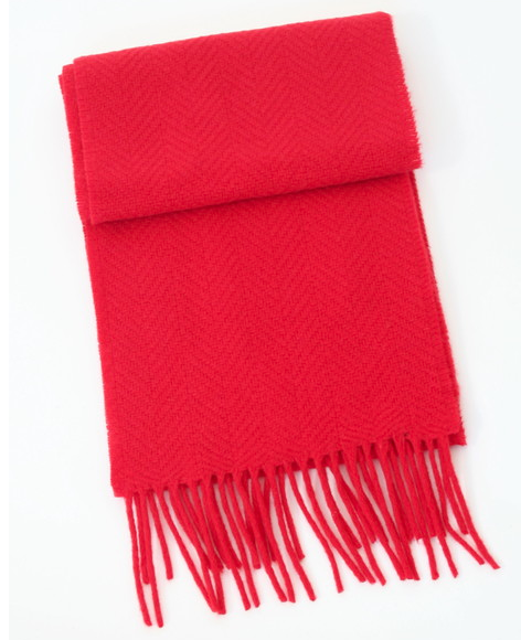 Merino-cashmere blend scarf from John Hanly — I have one of these in wine-herringbone and really am pleased with it. Thick enough to be warm with enough length to wrap around into some decent knots. John Hanly's been making scarfs for quite some time and supplies them to the likes of Polo Ralph Lauren, Barney's and Liberty of London. Again, bright red is a great accent color instead of going with the more sober colors of navy or charcoal — at least in my opinion.