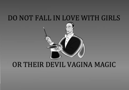 samguss:  devil vagina magic  haha But I like magic.