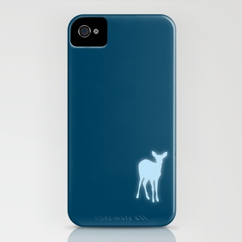 "My Harry Potter inspired iPhone cover. With the Doe on the reverse, and ""Always…"" appearing on the side."