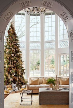 homeandinteriors:  Massive christmas tree!