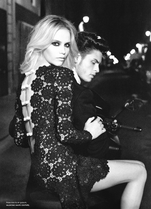Natasha Poly and Baptiste Giabiconi