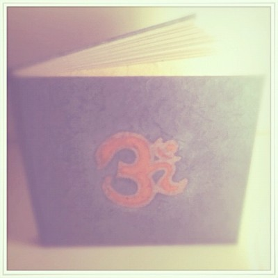 [ My Om Diary ] 📖✌ (Taken with instagram)