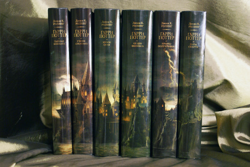 "Harry Potter Books 2-7. Russian ""Adult Edition"" (by Maria)"