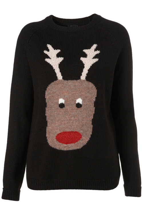 And a Christmas jumper from TopShop, £50. Also comes in Penguin and Snowman. However, it's acrylic. If you want the proper, old-school wool Christmas jumper, take a look here. I'm also eyeing up the Mulberry pear jumper.