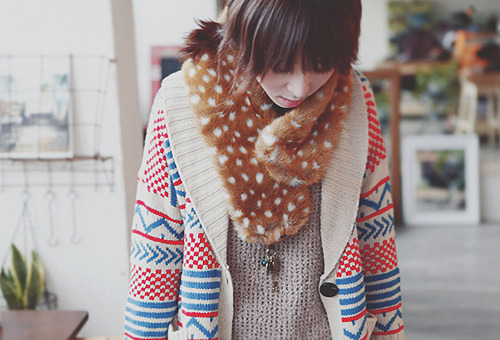 Ulzzang winter fashion